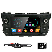"Camera+ 8"" 2 Din Radio Car DVD Player GPS Navigation For NISSAN Teana/Altima US"