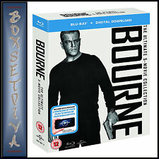 BOURNE COLLECTION - ULTIMATE 5 FILM COLLECTION  **BRAND NEW BLURAY BOXSET**
