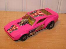Matchbox Speed Kings Ford Mustang Gulper Drag Funny Car Pink K-38