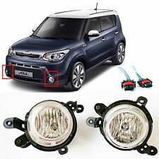 KIA 14~15 SOUL Fog  Lights Lamp Front Left,Right  + Connector Genuine 2EA=1SET