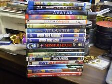 (17) Childrens Adventure DVD Lot: E.T. (3) Disney Avatar Monster House LEGO MORE