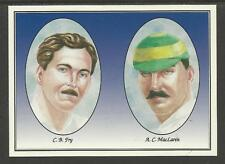 FIRST KNOCK Cricket Opening Pairs CHARLES FRY ARCHIBALD MACLAREN (England) #3