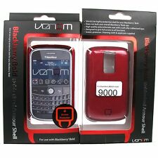 Phone Case Shell Blackberry Bold 9000 Venom Rubberised Armour Cover Red