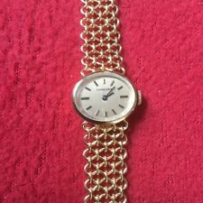 VINTAGE LONGINES LADIES WATCH, 14k GOLD BAND AND CASE, ITALY, 35 GR, NO SCRAP
