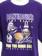 baltimores's play maker Who You Gonna Call ANQUAN BOLTON #81 t shirt jersey XL
