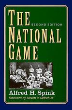 The National Game, Second Edition (Writing Baseball)-ExLibrary