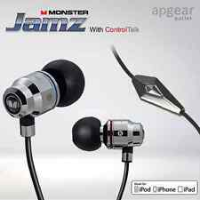MONSTER JAMZ With ControlTalk 129390 In-Ear Headphones Earphones Brand New