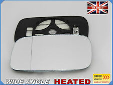 Wing Mirror CAR Glass Saab 9-3 1998-2002 Wide Angle HEATED Left Side #SA004