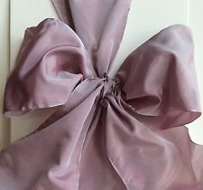 "5"" French Wired Ribbon - Lilac $3.  Per Yard Christmas Ribbon"