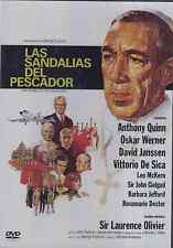 DVD NEW - Las Sandalias Del Pescador - The Shoes Of The Fisherman BRAND NEW
