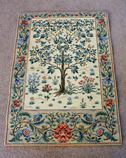 William Morris Tree of Life Inspired Tapestry Wall Hanging 67 cm x 47 cm