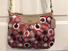 NWT Coach Madison Graphic Op Art FSH Swingpack Bag 46667