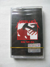 "METALLICA ""Kill Em All"" RARE press cassette megadeth anthrax slayer tape OOP"