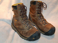 "Men's Size US 11 Keen Steel-Toe 9"" ASTM Work Boots"