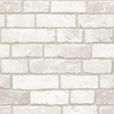 White Brick Look Contact Paper Self Adhesive Wallpaper Peel Stick Wall Stickers