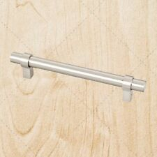 Cabinet Hardware Key Steel Bar Pulls pc480 Satin Nickel Handles 480 mm CC