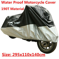 New XXXXL Waterproof Motorcycle Cover Shelter For Harley Dyna Softail Sportster
