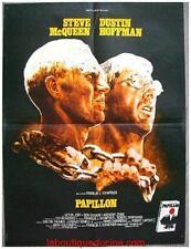 PAPILLON Affiche Cinéma ORIGINALE / Movie Poster STEVE MCQUEEN 60x80