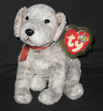 TY TRICKS the DOG BEANIE BABY - MINT with CREASED TAG - SEE PIC