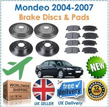 Ford Mondeo MK3 2004 2007 Front & Rear Brake Discs & Pads Set NEW OE Quality!