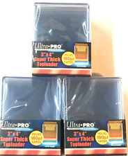 (30) Ultra Pro Thick 180pt Toploaders Super thick Topload Card Holders 3x4 MLB
