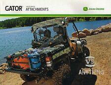 John DEERE GATOR Options/ACCESSORIES/Attachments Brochure: 825i,625i,855D,TS,TX,