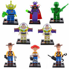 Toy Story Series Jessie Woody Buzz 8 Sets Building Minifigures Bricks LEGO