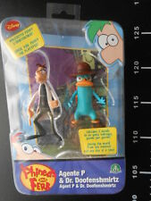 Disney PHINEAS & FERB Agent P & Dr. Doofenshmirtz Action Figures Tall