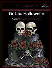Gothic Halloween: A Scary Adult Coloring Book - Free 2 Day Shipping
