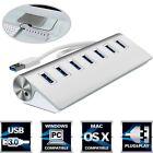 USB3.0 HUB Aluminum 7 Ports High Speed for Apple Macbook Pro Mac PC Laptop 5Gbps