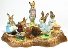 Beswick Beatrix Potters Royal Doulton Figurine Fox Bunny
