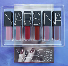 Nars MIND GAME velluto Lip Glide Set 6 PC * 3.4 ml Sarah MOON LIMITEDEDITION NUOVO CON SCATOLA