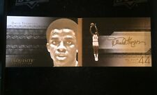 2013-14 UPPER DECK EXQUISITE DAVID THOMPSON GAME FACE ON CARD AUTO BOOKLET