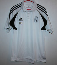 Real Madrid Spain shirt training polo DS Adidas Size S