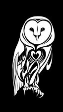 OWL sticker decal car window vinyl Laptop Tribal Girl Love Owl Sticker Decal Fun