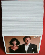 James bond quantum of solace, complet 90 carte base set Rittenhouse archives