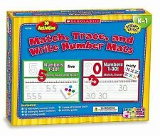 Scholastic Hands-on Learning Ser.: Match, Trace, and Write Numbers Mats : 30...
