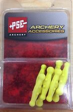 NEW PSE ARCHERY YELLOW COLORED STRING SILENCER CHUBS FOR PSE BOW