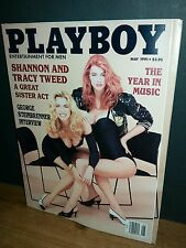 SHANNON & TRACY TWEED Nude!! PlayBoy Nudes! MAY 1991 EXCELLENT!! HOT!!!!!!!!