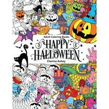 FREE 2 DAY SHIPPING: Adult Coloring Book: Happy Halloween : for Relaxation and