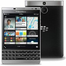 New BlackBerry Passport SQW100-4 Silver Edition 32GB GSM Unlocked Smartphone
