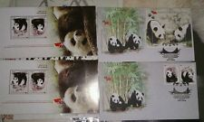 大熊猫 Panda Project 2015 - MALAYSIA CHINA PANDA Original FDC STAMP MS pair KL chop