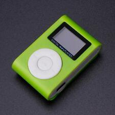 Portable USB Clip MP3 Music Player LCD Screen Support 32GB Micro SD TF Card #3