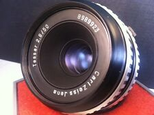 Camera/Lens expert Carl Zeiss TESSAR 2.8/50mm Zebra Lens M42 Digital SLR Germany