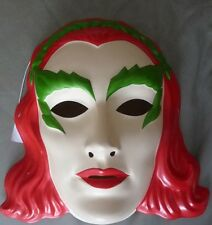 Batman Poison Ivy  Light Weight Plastic Costume Mask Rubies Licensed New