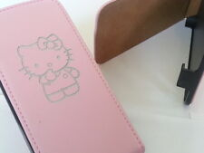 Iphone 4 Hello Kitty De Cuero Original Rosa Flip Phone Funda cinco Apple 4s