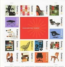 CHARLES & RAY EAMES STAMP SHEET -- USA #4333 42 CENT 2008