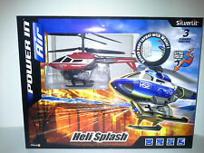 SILVERLIT HELI SPLASH  HELICOPTER RED (84656). NEW IN BOX