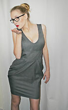 Women's RED HERRING office grey  color dress  size 10 BNWT