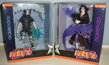 NEW 2007 SDCC NARUTO SASUKE & ITACHI SET ACTION FIGURE W/ LIGHTS COMIC CON